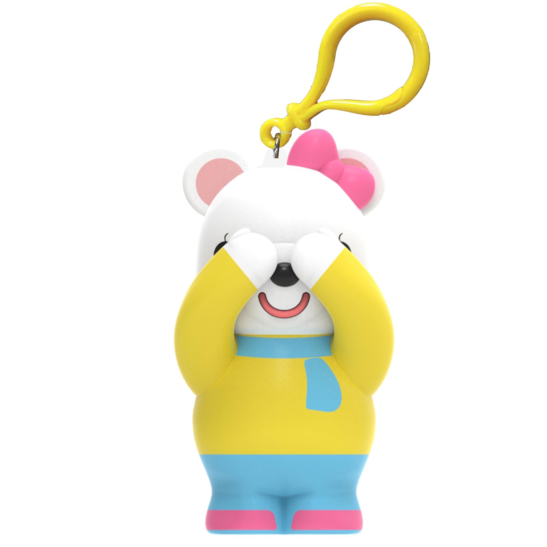 围巾熊(黄)