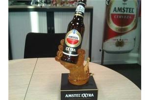 AMSTEL创意啤酒底座