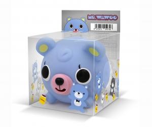 小蓝熊摆件