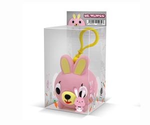 小粉兔挂件