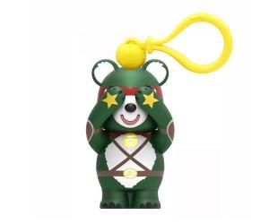 忍者小熊挂件