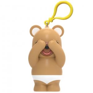 内裤熊(深咖+白)