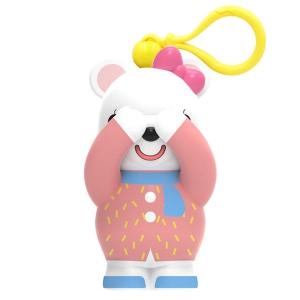 围巾熊(红)挂饰