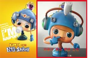 《昆塔:盒子总动员》与唐威合作,动画电影衍生品面世