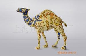 全身不规则热转印技术突破---骆驼牌香烟吉祥物
