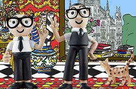 D&G family 玩偶|杜嘉班纳除了美得气势磅礴,原来还有这种猝不及防的可爱!