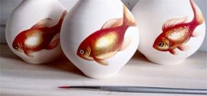 悉尼艺术家Niharika Hukku把鱼活灵活现的画活了