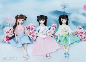 8款特色国产娃娃秀