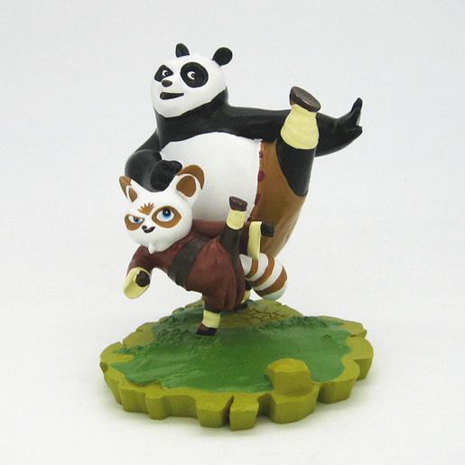 功夫熊猫 树脂工艺品