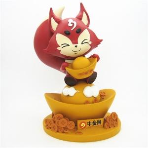 中金 小狐狸吉祥物
