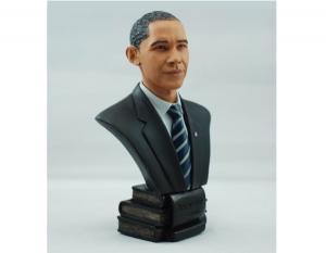 奥巴马人物雕塑