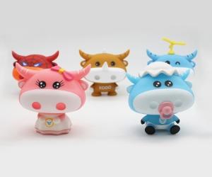 可爱小牛 塑料玩具