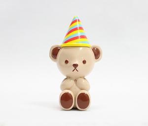 迷你款生日泰迪熊摆件